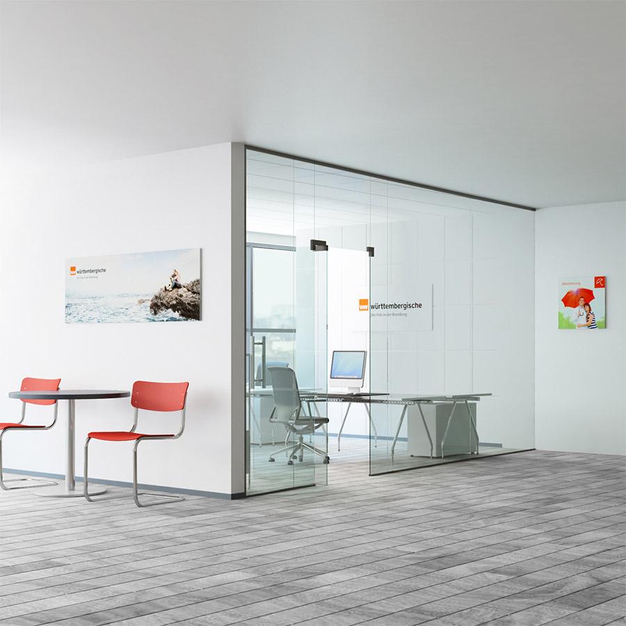 Raum intreior Design Stühle, werbung
