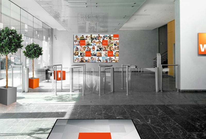 Interieur Event Fotomontage