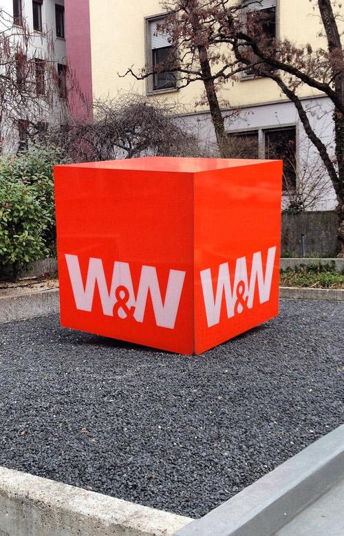 Würfel Corporate architecture Logo