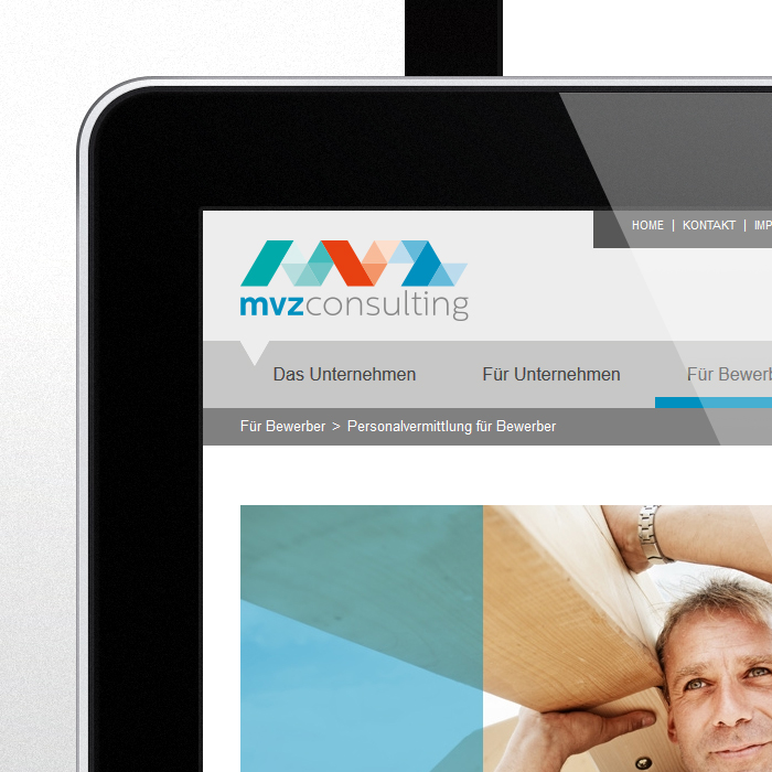 Print MVZ, Website, Corporate Design