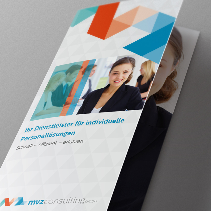 Print MVZ, Corporate Design, Broschüre