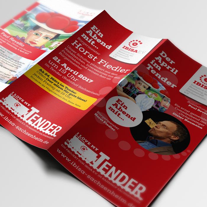 Ibisa, Print, Flyer, Facebook Fanseite