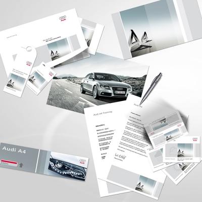 Einladungen, Print, Messe, Interieur Audi