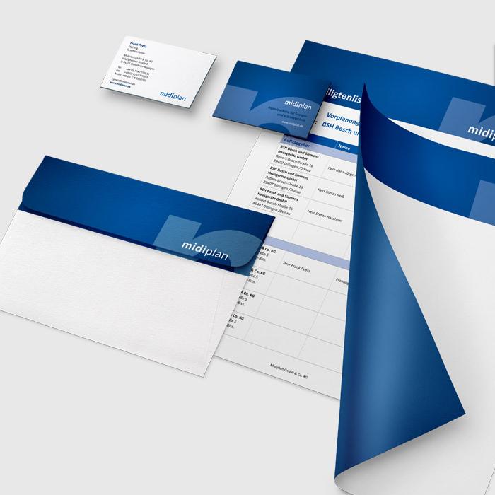 Geschäftsausstattung, Print, Geschäftsausstattung