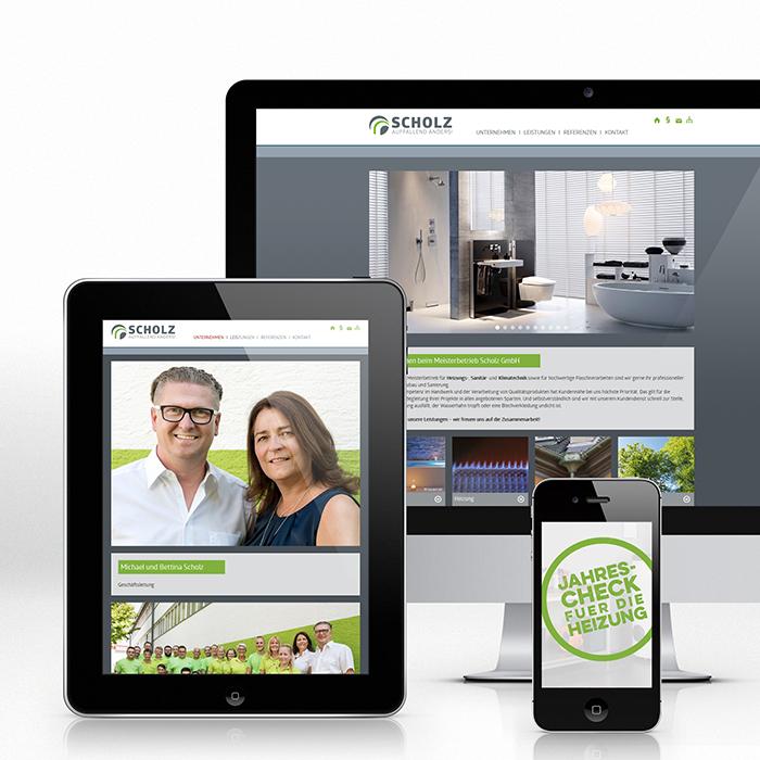 Corporate Design, Internet, Website