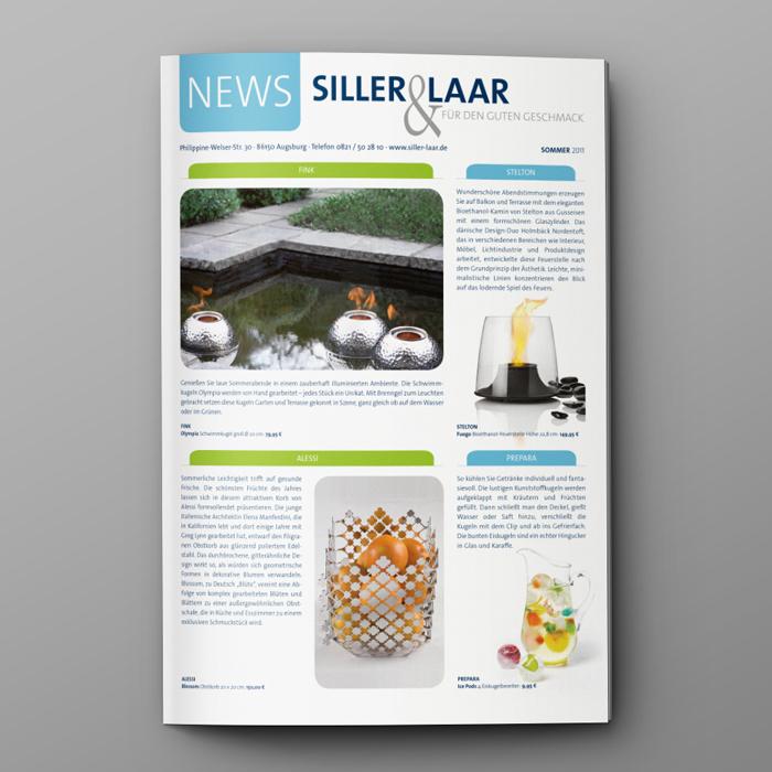 Print, Corporate Design, Newsletter, Firmen Logo