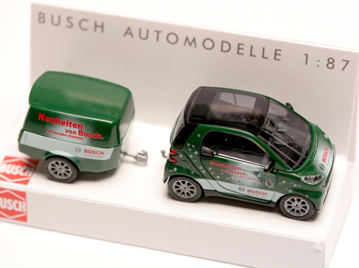 Smarte Tage, Bosch, Messe, Interieur, Smart Modell