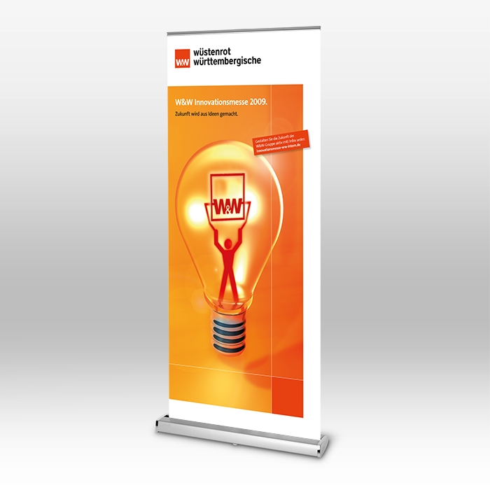 Event, Roll-Up, Innovationsmesse, Werbemittel